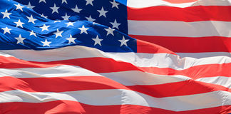 Flag of the USA Royalty Free Stock Photo