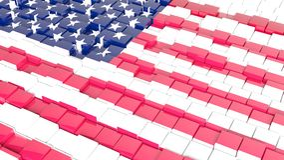 Flag of USA Royalty Free Stock Photography