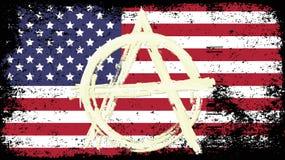 Flag USA Royalty Free Stock Photography