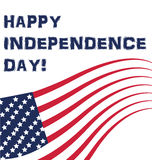 Flag USA Independence day Stock Images