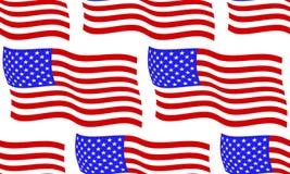 Flag of USA pattern Stock Photos