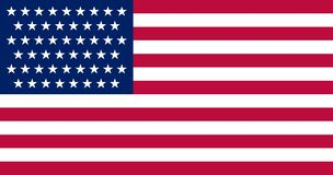 Flag of the USA vector illustration