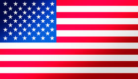 Flag of the USA Royalty Free Stock Images