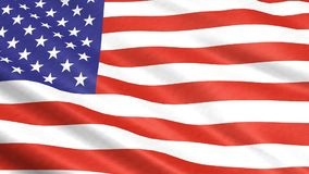 A flag of the USA stock video footage