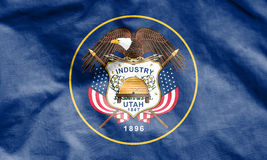 Flag of Utah, USA. Stock Photo