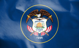 Flag of Utah, USA. Stock Photography