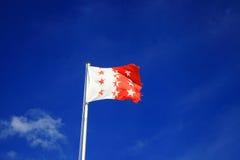 Flag of the Valais Royalty Free Stock Photos