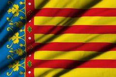 Flag of Valencia Stock Photos