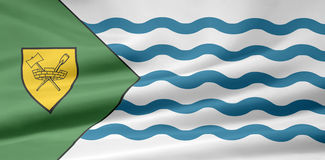 Flag of Vancouver - Canada. Very large version of the canadian city of Vancouver Royalty Free Stock Photos