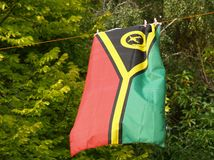 Flag of Vanuatu Stock Images