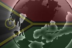 Flag of Vanuatu Royalty Free Stock Photos