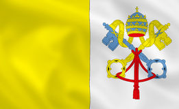 Flag of Vatican Royalty Free Stock Photos
