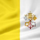 Flag of the Vatican City stock photos
