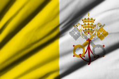 Flag of Vatican Royalty Free Stock Photography