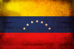 Flag of venezuela stock illustration