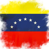 Flag of venezuela Royalty Free Stock Photography