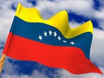 Flag. Venezuela Stock Image