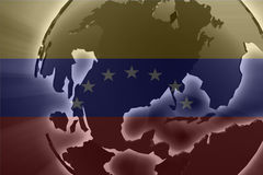 Flag of Venezuela Stock Image
