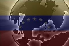 Flag of Venezuela Stock Image