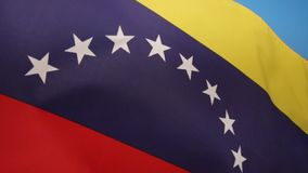 Flag of Venezuela. The current national flag of Venezuela was introduced in 2006. Flag Day is celebrated on August 3 royalty free illustration