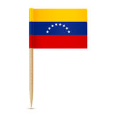 Flag of Venezuela. Flag toothpick 10eps Royalty Free Stock Images