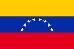 Flag of Venezuela Royalty Free Stock Photo
