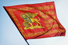 Flag of venice Stock Image