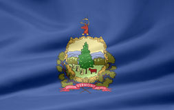 Flag of Vermont royalty free stock photo