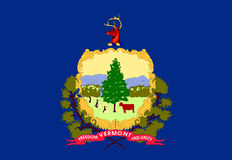 Flag of Vermont Royalty Free Stock Image