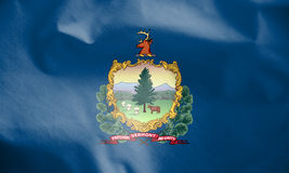 Flag of Vermont, USA. Royalty Free Stock Image