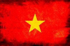 Flag of vietnam Stock Photos