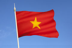 Flag of Vietnam - South East Asia Stock Image