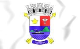 Flag of Vitoria Espirito Santo, Brazil. Royalty Free Stock Photo