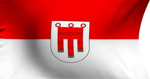 Flag of Vorarlberg Royalty Free Stock Photos