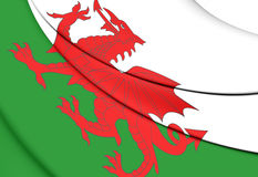 Flag of Wales Stock Photos