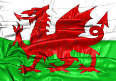 Flag of Wales Royalty Free Stock Photography