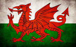 Flag of Wales Stock Photography