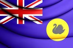 Flag of Western Australia Royalty Free Stock Image