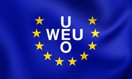 Flag of Western European Union 1954-2011 Stock Photos