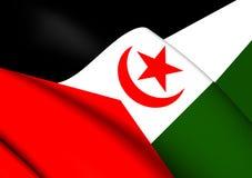 Flag of Western Sahara Stock Image