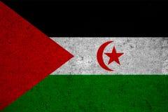 Flag Western Sahara Royalty Free Stock Photo
