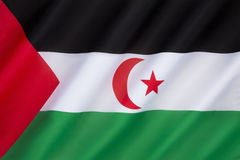 Flag of Western Sahara Stock Images