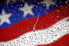 flag wet Στοκ Εικόνες