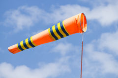 Flag of windsock Royalty Free Stock Photo