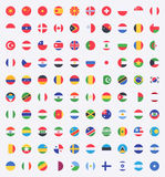 Flag of world Stock Photo
