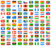 Flag of world Royalty Free Stock Image