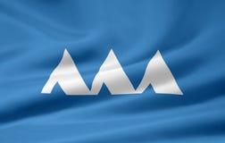 Flag of Yamagata - Japan Royalty Free Stock Photos