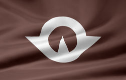 Flag of Yamaguchi - Japan royalty free stock image