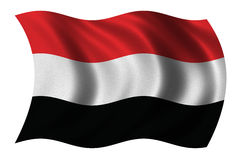 Flag of Yemen Stock Images