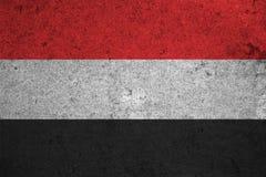 Flag Yemen Royalty Free Stock Photography